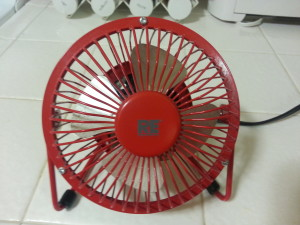 Small table fan