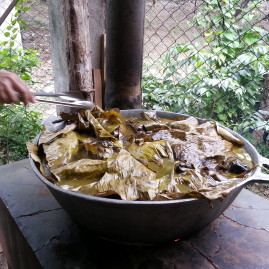 Making Nacatamales