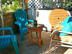 """Staging"" the Patio"