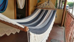 White and Grey Hammock